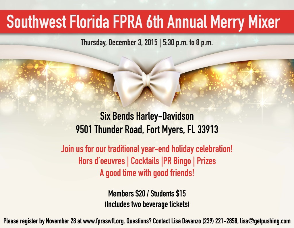 Florida FPRA 6th Annual Holiday Mixer